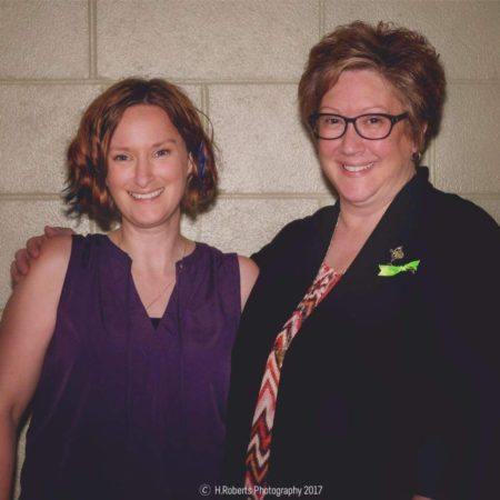 Angele and Paula from Midcoast Lyme Disease support & Education