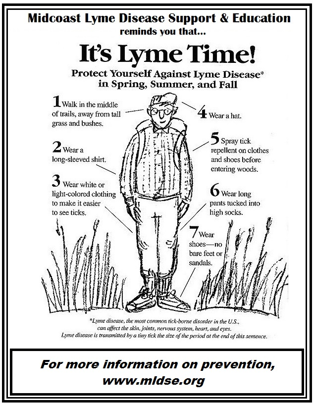 Lyme Disease prevention tips