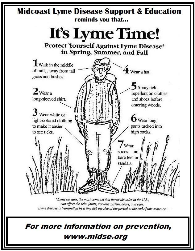 Lyme Disease prevention tips