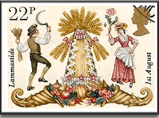 Lammastide stamp