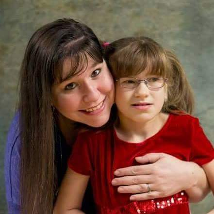 Candice and Kaylee Lurvey, autism