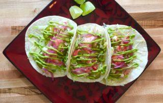 Lobster tacos/Linda Kate Lobster