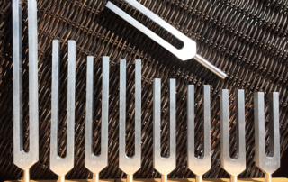 Tuning forks for healing
