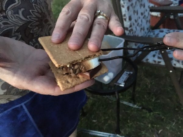 A s'more