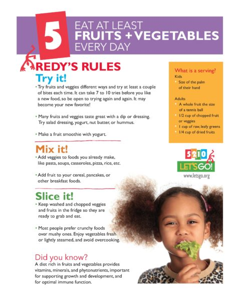 Poster, Fruits and veggies
