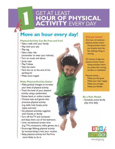 Poster/Physical activity
