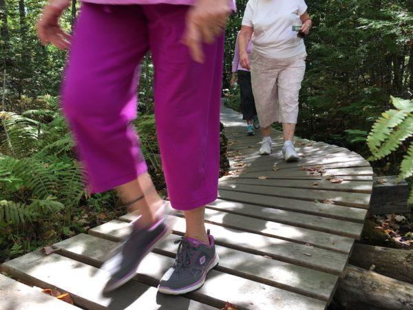 Happy Healthy Gorham hikers