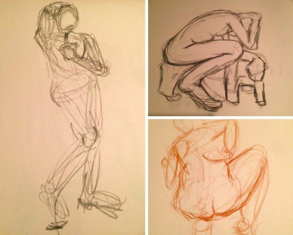 Jen's drawings/Pilates