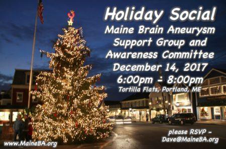 Maine Brain Aneurysm Support Group @ Tortilla Flats | Portland | Maine | United States