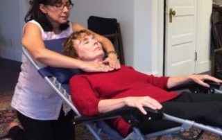 Diane and Ilma Reiki session