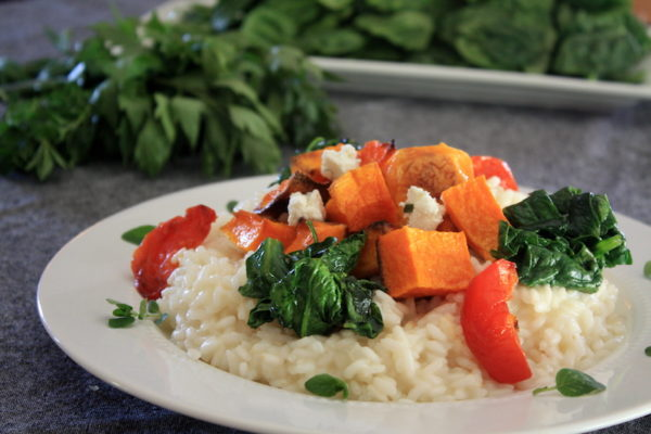 Roasted butternut squash by Chef Annie Mahle
