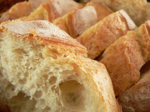 loaf of bread/salt