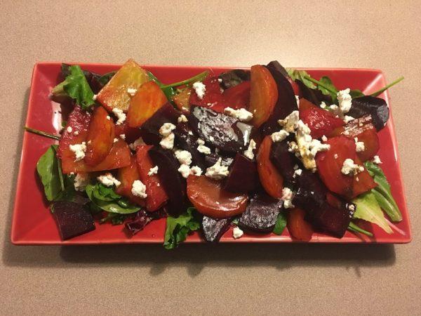 Beet salad by Diane