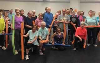 Fit to Live exercise class