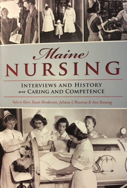 Maine Nursing/Book Cover
