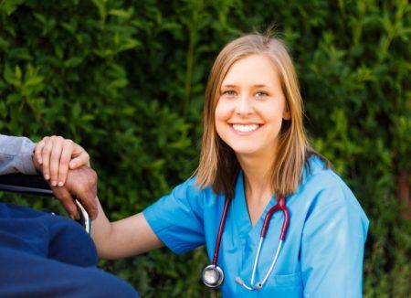 Nurse in the community