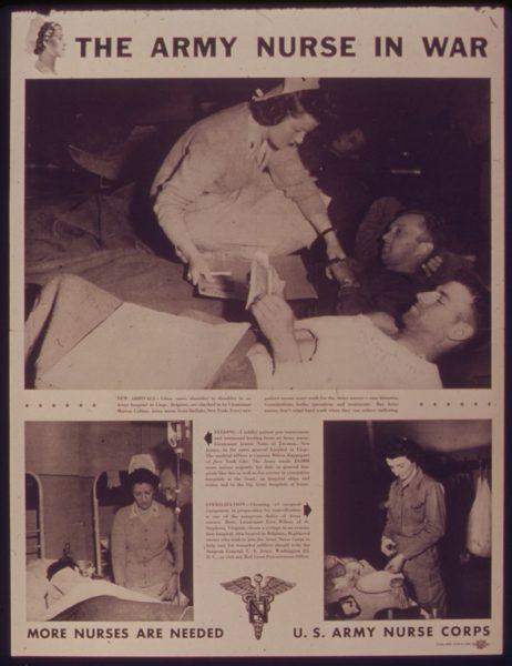 Army nurses WWII