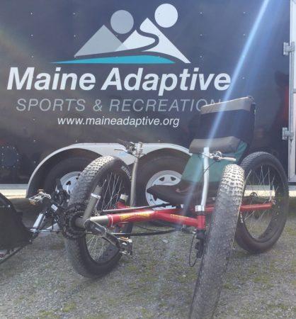 Adaptive bike/Trident Trike Terrain