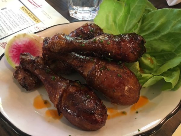 Smoked Chicken drumsticks