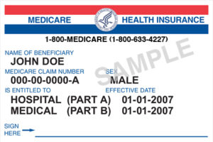 Old Medicare Card