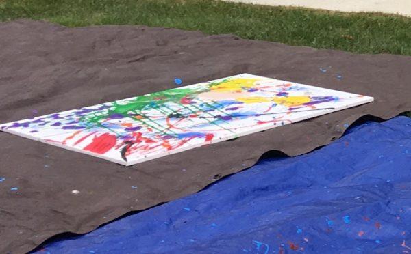 Resident art/Project Pollock