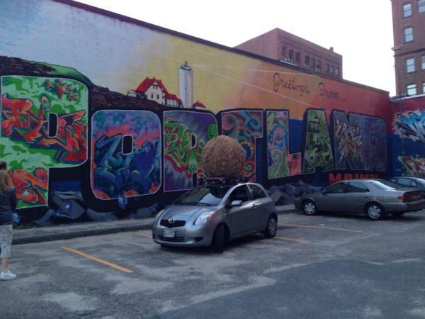Portland graffiti wall/Asylum