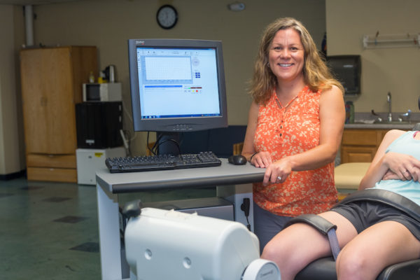Erin Hartigan UNE physical therapist/incontinence study