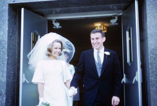 John and Gloria Tewhey wedding/Living with grief