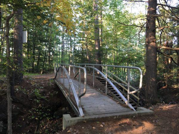 Pedestrian bridge Gambo Preserve