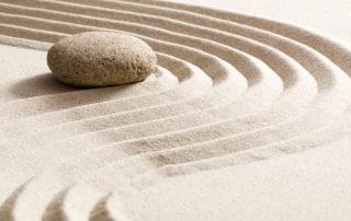 Stone in sand/Adobe