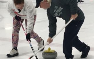 Pinetree Curling Club members