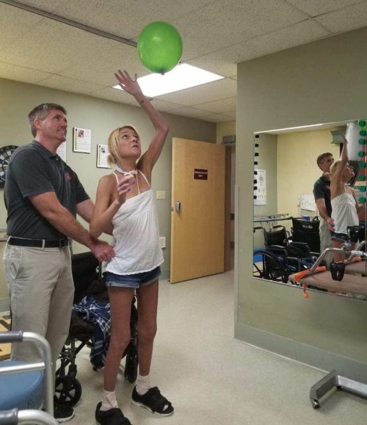 Dana in rehab