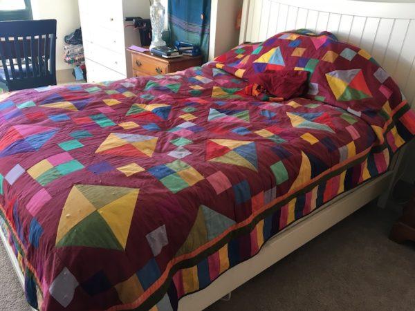 Leona's last quilt