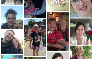 Collage of people with rare diseases