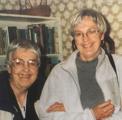 Fran Evans and daughter Lucy