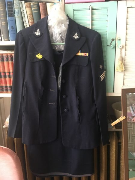 Leona's Navy uniform
