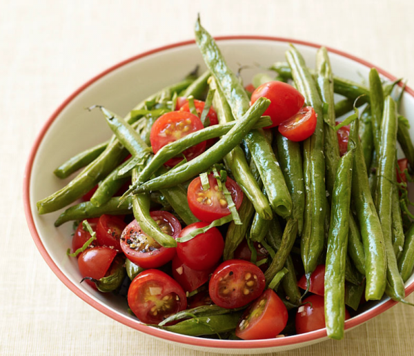Green beans and tomatoes/WW
