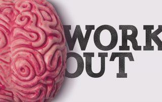 Brain workout graphic