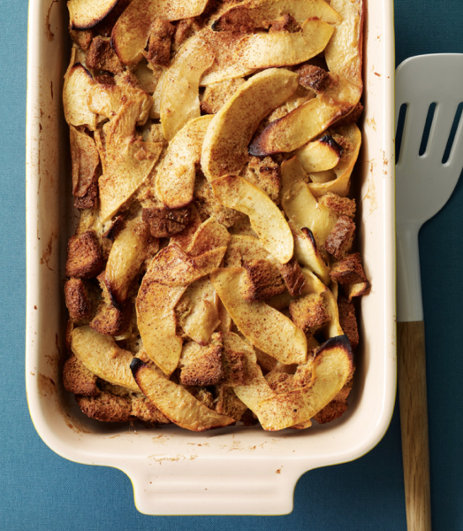 Spiced Apple Breakfast Casserole from WWMaine