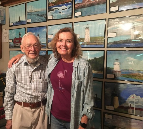 Ernie DeRaps and Diane Atwood
