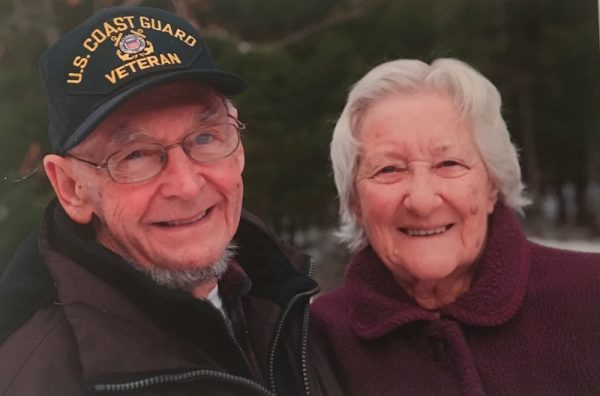 Ernie and his late wife Pauline