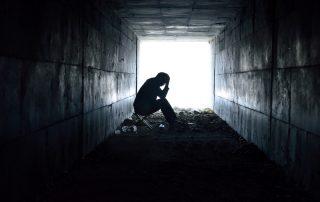 Person in despair/moral injury