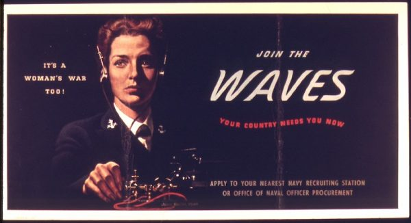 Join the Waves poster WWII