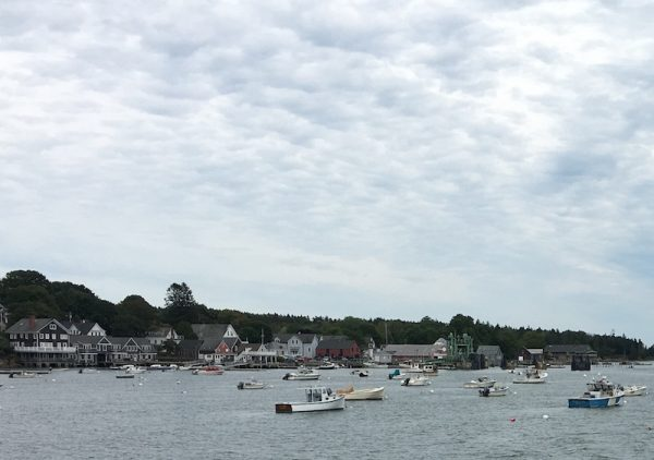 View of North Haven, Maine from the ferry