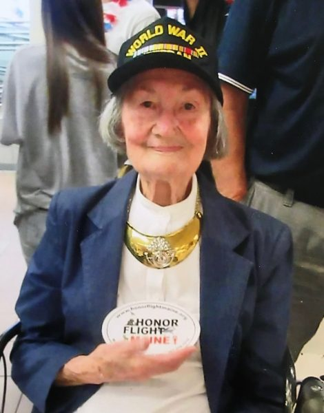 Leona Chasse/WWII veteran and Code Girl