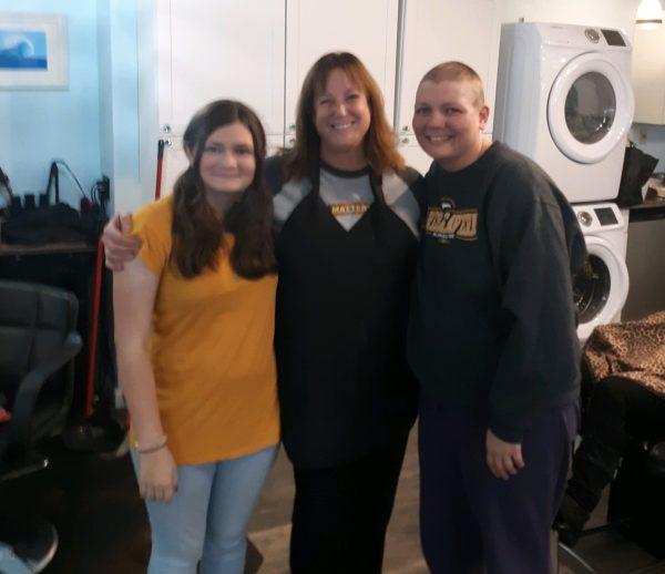 Beth's daughter, Debby Porter, Beth/Hair Matters