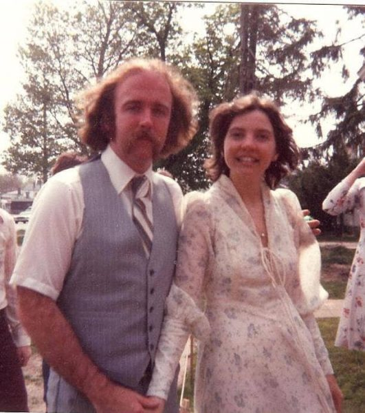 Michael and Jennifer Fitzpatrick wedding picture/Conversations About Aging