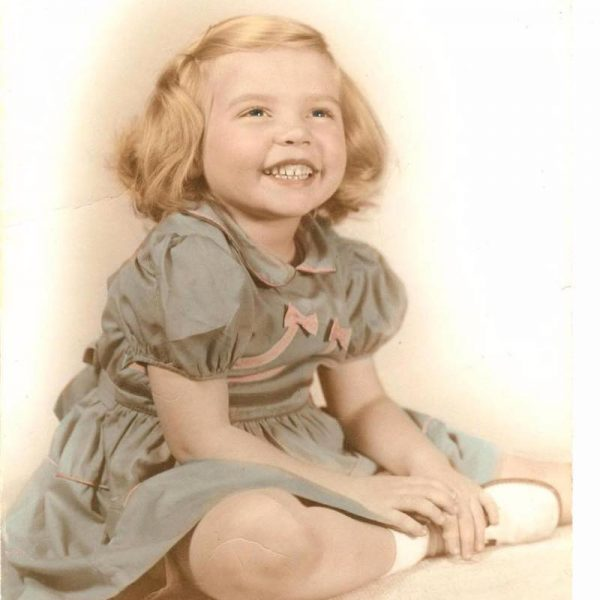 Jennifer Fitzpatrick as a little girl