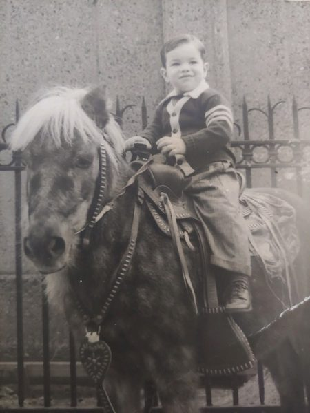 Little Joe Cupo on a pony