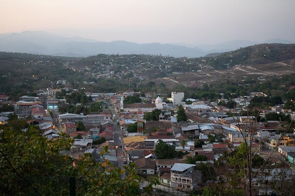 View of Santa Barbara, Honduras